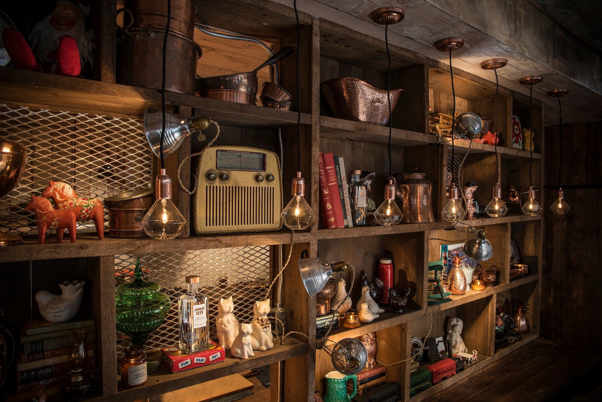 Shelves at the Elyx House NYC