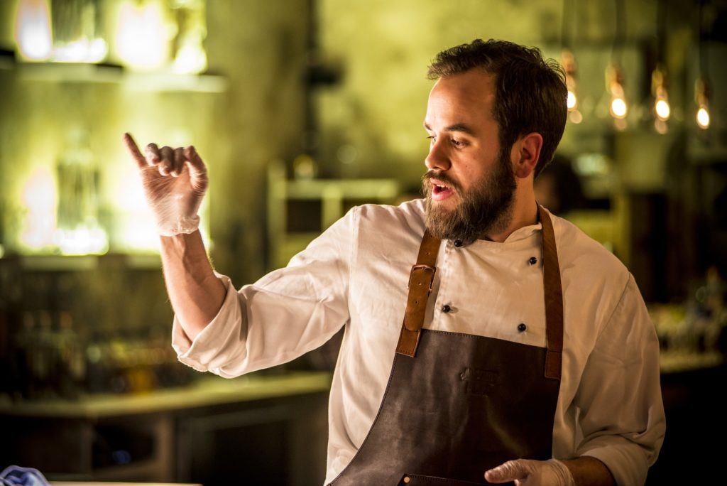 Claes Ljungberg - Our Chef during the Elyx Experience