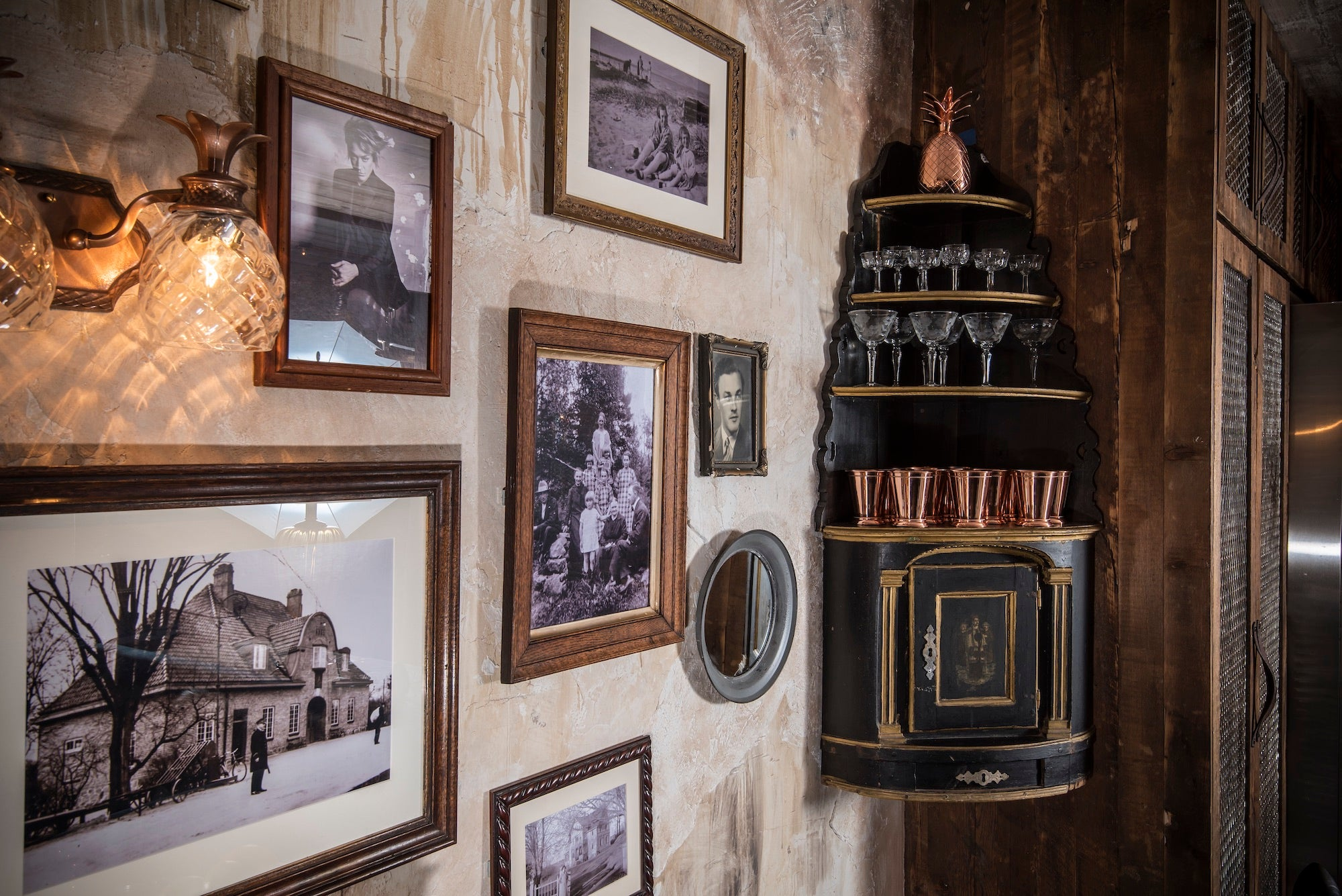 Glasses and frames at the Elyx House NYC