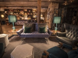 Lounge area at the Elyx House NYC
