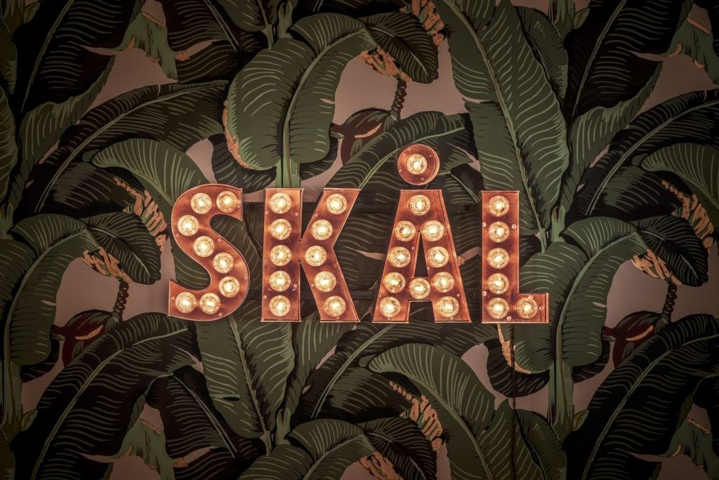 Skal sign at the Elyx House LA