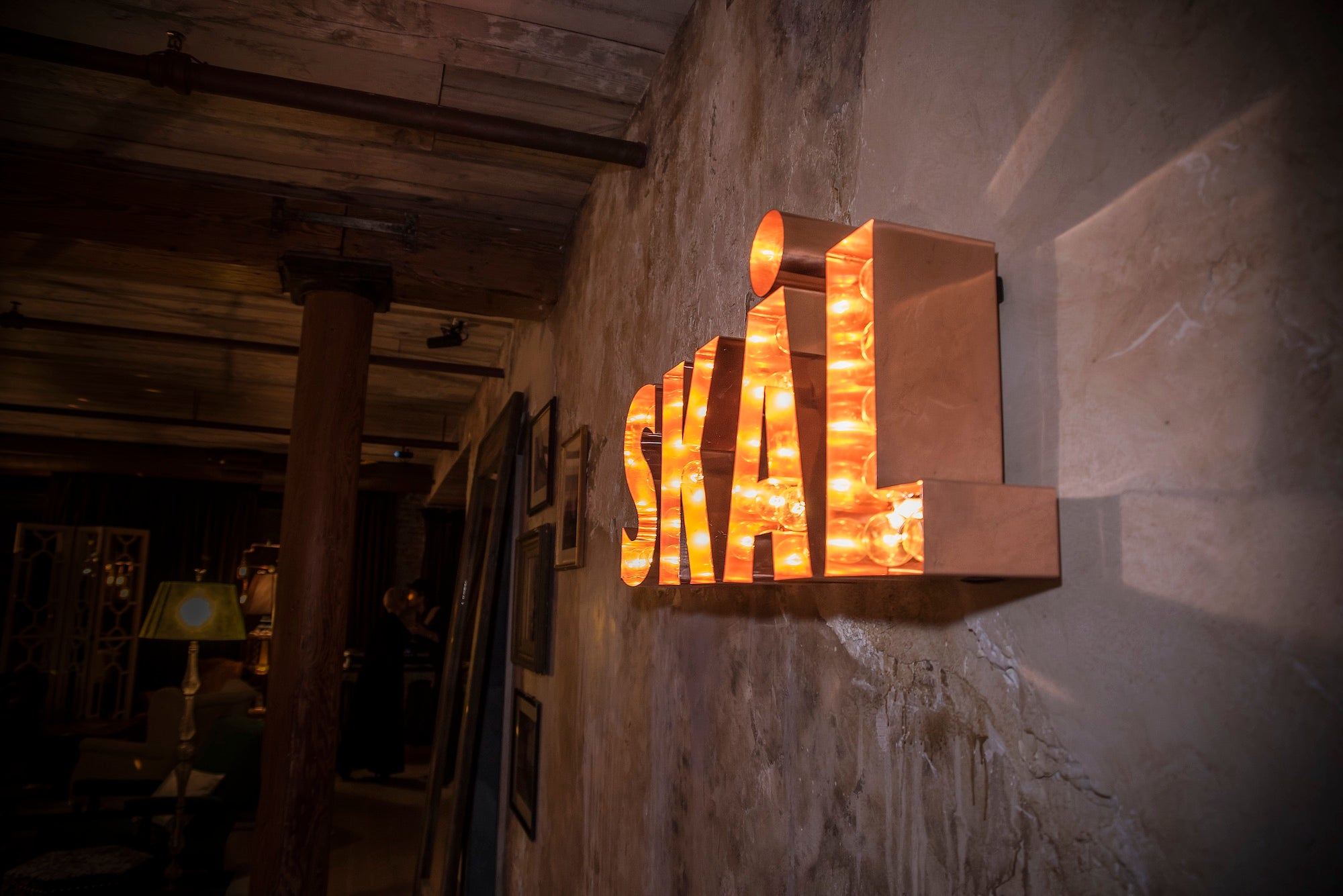 Skal sign at the Elyx House NYC