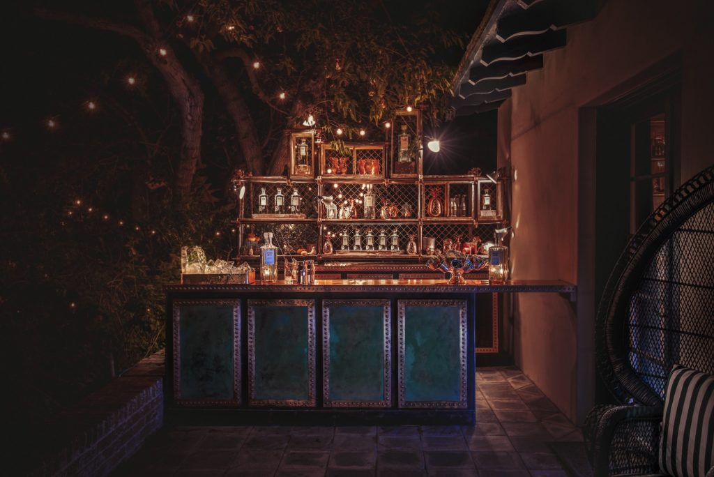 Veranda Bar at the Elyx House LA