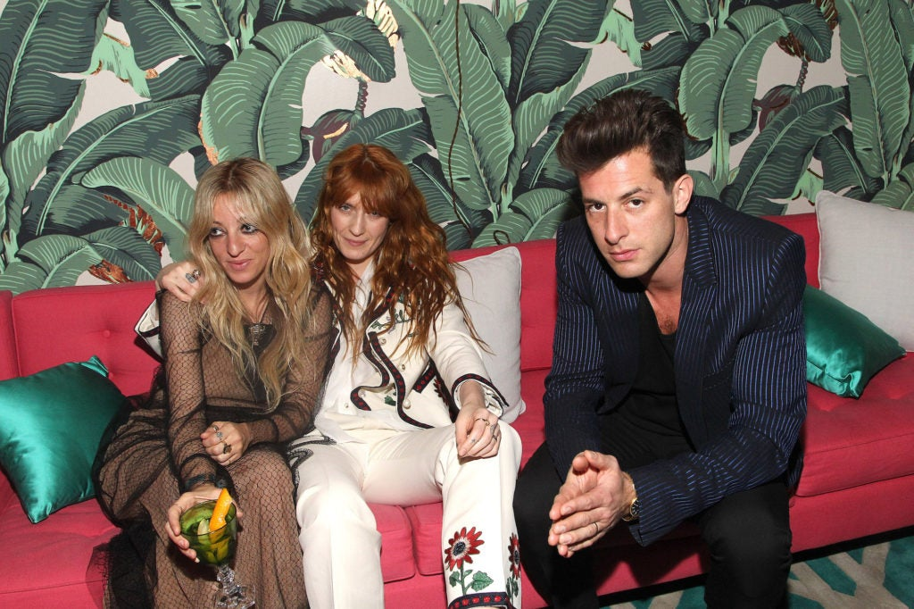 Absolut Elyx Hosts Mark Ronson's Grammy's Afterparty At Elyx House Los Angeles
