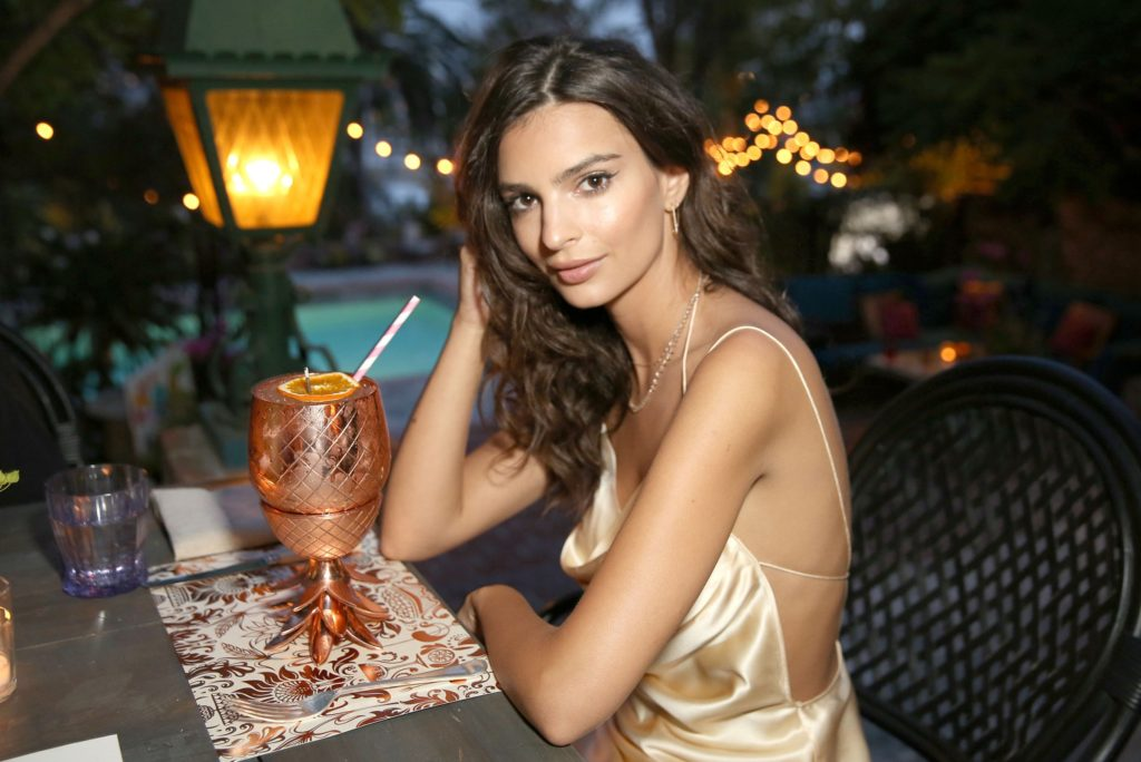 Emily Ratajkowski's 25th Birthday Celebration At The Private Residence of Absolut Elyx CEO Jonas Tahlin