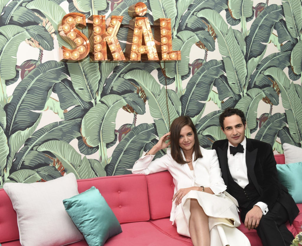 Katie Holmes And Jonas Tahlin Host An Intimate Celebration Honoring WWD And Variety Stylemakers Designer Of The Year, Zac Posen, At The Elyx House LA