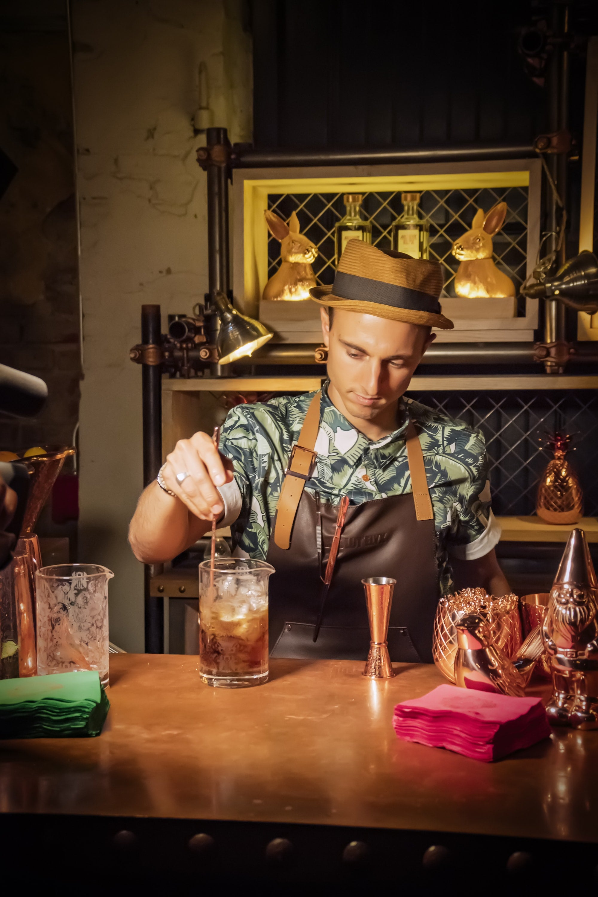 Maxime Belfand, Bartender in East Village, NYC
