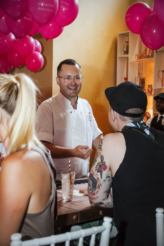 Alex Kratena behind the bar at Tales of the Cocktail 2017