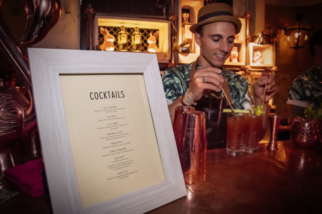 Maxime Belfand, Bartender in NYC at Tales of the Cocktail 2017