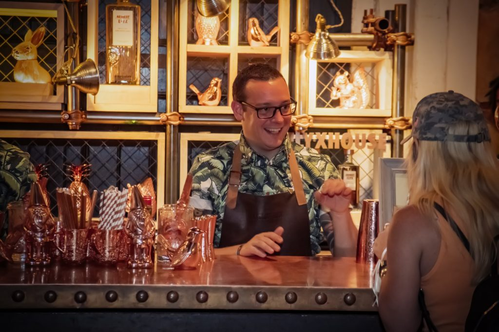 Davide Segat from London at Tales of the Cocktail 2017