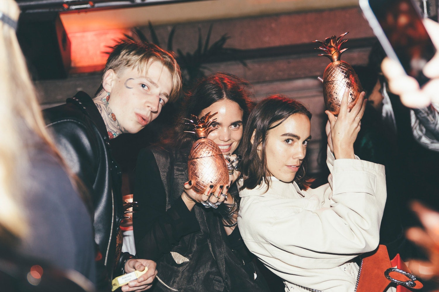 Johan Lindeberg party at Stockholm Fashion Week